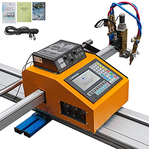 Mophorn 63(W) x 98(L) Inch Effective Cutting CNC Plasma Cutter Portable Plasma Cutting Machine 110V CNC Plasma Cutter Machine for Plasma Gas Cutting Equipment
