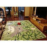 "Fayday® Cartoon TOTORO Skid-proof Washable Big Carpet Kids Nursery Entertainment Floor Area Rugs Mat For Living Room/Bed Room 130cm x 180cm,70.9 "" x 51.2 """