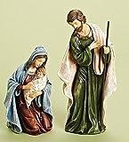 Roman 2-Piece Holy Family Religious Christmas Nativity Statues 12''