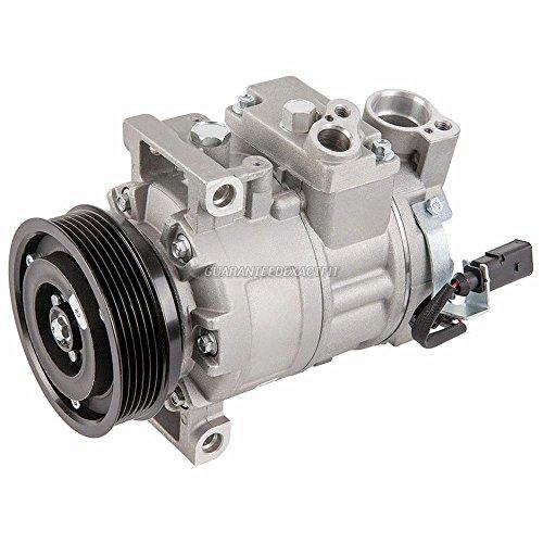 AC Compressor & A/C Clutch For Audi A4 A5 Quattro A4 A5 Q5 - BuyAutoParts 60-02975NA NEW