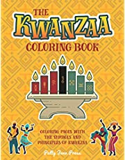 Kwanzaa Coloring Book: For Kids And Adults   Simple, Easy and Large Pages To Color   Kwanzaa Gift For Kids