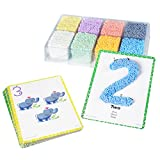 Educational Insights Playfoam Shape & Learn Numbers Set | Original Playfoam, Preschoolers Practice Numbers Recognition & Formation