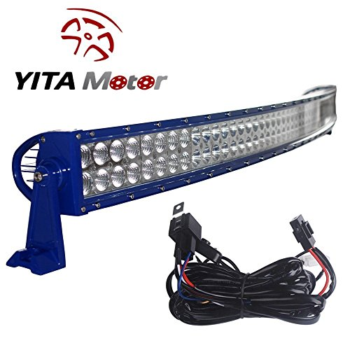 YITAMOTOR-Curved-50-Inch-Flood-Spot-Combo-LED-Work-Light-Bar-Driving-Offroad-Light-for-Truck-SUV-4WD-Jeep-with-Wiring-Harness-480W-3-Year-Warranty
