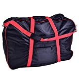 DUUTI Folding Bicycle Bag, Portable Bike Cover Storage Shoulder Bag for 14-20in Bikes