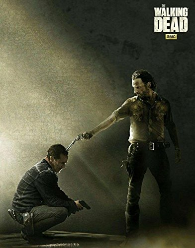TV series Walkers Zombies The Walking Dead Frame Poster Print