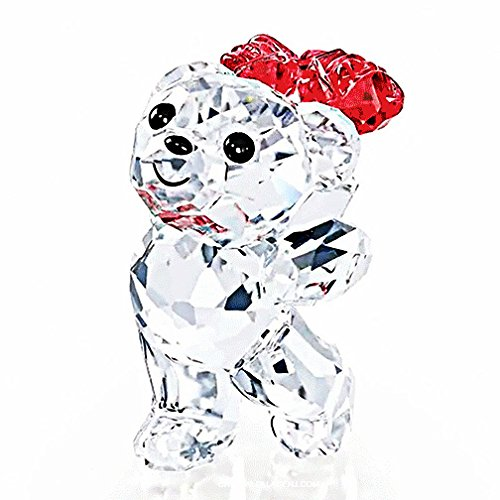 Swarovski 5063324 Kris Bear-say It with Roses Collectible Figurine