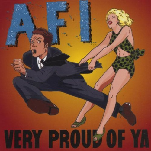 CD : AFI - Very Proud of Ya (CD)