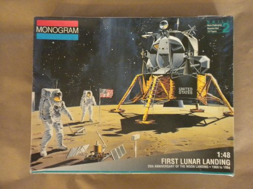 1st Lunar Landing (Monogram: First Lunar Landing Model Kit)