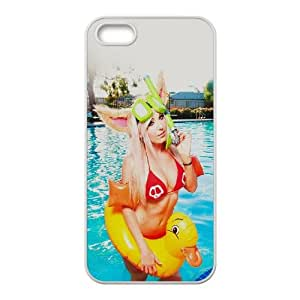 iPhone 5 5s Cell Phone Case White Jessica Nigiri American Cosplay Celebrity Model Sexy Zbnni