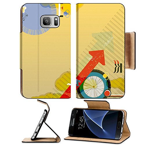 Liili Premium Samsung Galaxy S7 Flip Pu Leather Wallet Case Flyer leaflet booklet layout Editable design template transparencies Photo 20057617 Simple Snap Carrying