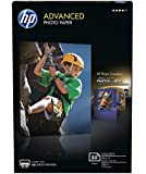 HP Advanced Photo Paper, Glossy (4 x 6 inches, 50 sheets)