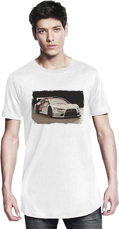 Gran Turismo Sport White Mitsubishi Camiseta larga X-Large: Amazon ...