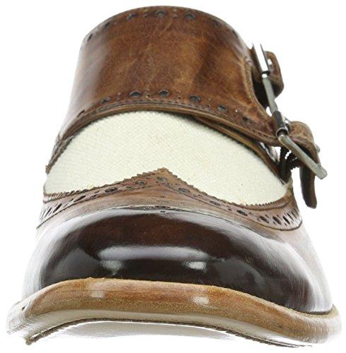 Marrón Eddy Hamilton Ls Hombre Melvin 2 Tan infant Derby Zapatos amp; Canvas Beige 10w5xqw7