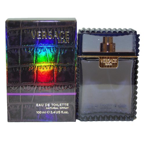 Versace Man by Versace 3.4oz 100ml EDT (Versace 3.4 Edt)