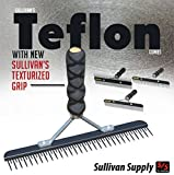 Sullivan Cow Calf Steer Holstein Heifer TEFLON FLUFFER Comb Textured Grip Handle