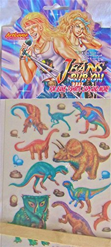 - Dinosaurs Jean Tats- Dress up your denim!
