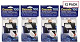Cascade® Filter Replacement Cartridges for Cascade 100 Hang-on Power Filters, 12-pack