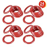 """Gamie Plastic Carnival Rings (Pack of 24) 