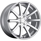 Dropstars 643MS Wheel with Machined Finish (20x10/5x4.52, 40mm Offset)