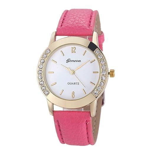 673688007 Amazon.com: Frunalte watch, Casual Luxury Geneva Fashion Women ...