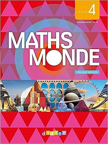 En ligne téléchargement gratuit Maths Monde cycle 4 - Livre du Professeur pdf