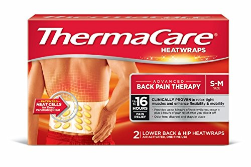 Thermacare Lower Back and Hip Heat Wraps, Small/Medium (2 - Malls In Oh Outlet