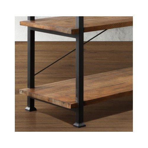 Amazoncom Tribecca Home Industrial Tv Stand This Stylish Furniture Is  The Perfect Addition To Any Room In Your House Use It As An Entertainment Center  Rustic Industrial Tv Stand D66