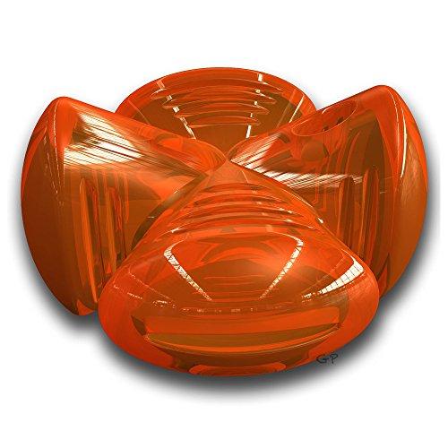 Outward Hound Bionic Stuffer, Orange, Medium