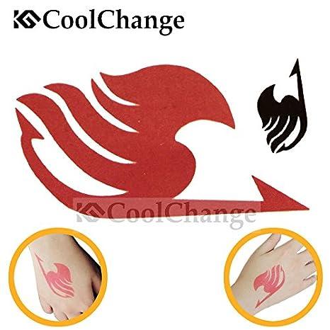 Cool Change Fairy Tail tatuaje temporal etiqueta set, 2 x Fairy ...