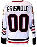 Chevy Chase Custom Griswold Christmas Vacation White Jersey Large