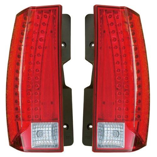 2007-2013 Cadillac Escalade & ESV Platinum Sport Utility 4-Door & 2009-2013 Hybrid Taillight Tail Lamp Rear Brake Taillamp Light Pair Set Right Passenger AND Left Driver Side (07 2007 08 2008 09 2009 10 2010 11 2011 12 2012 13 2013)