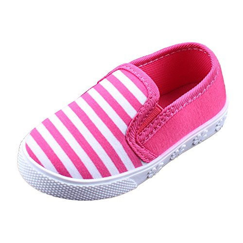 RVROVIC Kids Boys Girls Light Weight Slip-On Loafers Toddler Casual Walking Sneakers Size 6.5 -Size 9 Toddler -