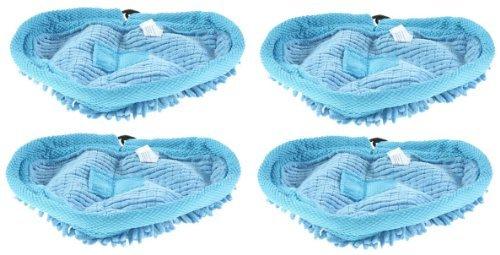 First4spares lavable almohadillas de limpieza de microfibra Coral para Vax S87-T2 rojo de vapor (4 unidades): Amazon.es: Hogar