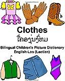 English-Lao (Laotian) Clothes Bilingual Children's Picture Dictionary