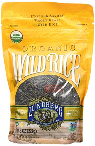 - Lundberg Family Farms Organic Wild Rice, 8 Ounce