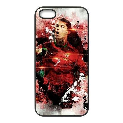 Cristiano Ronaldo UM57IV5 coque iPhone 5 5s étui de téléphone cellulaire coque L8JX7J2NM