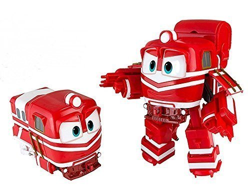 "Animation Characters ""ALF"" Toy, Kids, Child, Korean Animation ""Robot Train""Transformer Train Robot character"