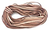 50 Meters of Decorative Veg Tan Leather Shoe Welt Cord for Shoemaking or Shoe Repair