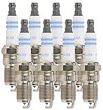 Bosch (6724) FR7DPP30X Original Equipment Fine Wire Platinum Spark Plug (8 Pack)