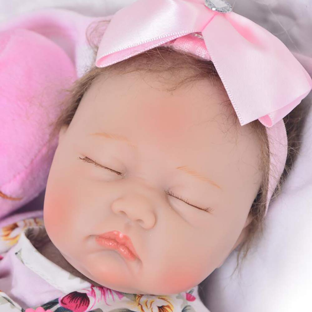 Amazon.com: XJJ Reborn Doll 16-inch 42CMthe Sleeping Dolls ...