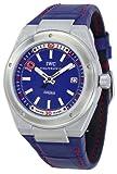 IWC Ingenieur Edition Zinedine Zidane Automatic Blue Dial Steel Mens Watch IW3234-03