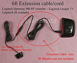 Amazon Com 6ft Extension Cable Cord For Logitech Mini Ir