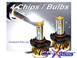 GP Xtreme H16 5202 9009 PS24W 6400lm Lumen Super White / Blue / Golden Yellow Philips Cree LED Fog Lamp / DRL Day Time Runing Lights Chevy Tahoe Camaro GP-H16-CR-HL-VI