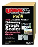 Useal USA Hot Liqufied Rubber, Driveway Crack Sealer (Refill), #68119