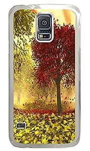 design Samsung Galaxy S5 cases Tree Nature 3D PC Transparent Custom Samsung Galaxy S5 Case Cover