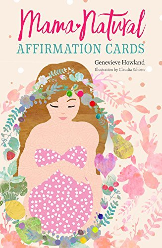 Mama Natural Pregnancy Affirmation Cards