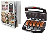 Cheap Johnsonville BTG0498BUN Sizzling Sausage Specialty Grill & Cookbook, Black/Stainless