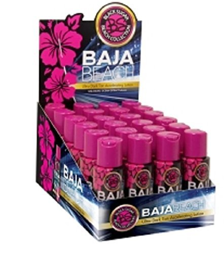 24 X TAN INC BAJA BEACH ACCELERATING LOTION BOX DEAL 60MLS SUNBED LOTION TANNING CREAM by Tan Incorporated