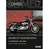 Clymer Repair Manuals for Harley-Davidson Sportster 883 Superlow XL883L 2011-2013