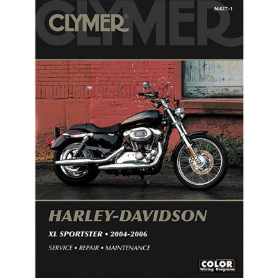 Clymer Repair Manuals for Harley-Davidson Sportster 1200 Custom XL1200C 2004-2010